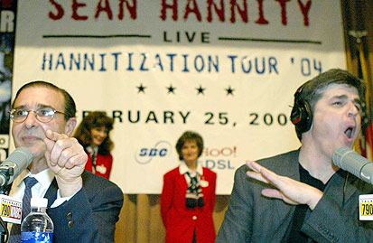 Steve Young and Sean Hannity