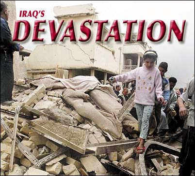 iraq devastation