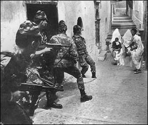 Still from  'The Battle of Algiers'