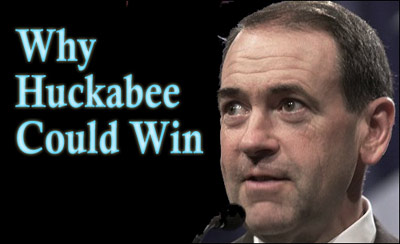 Why Huckabee could win