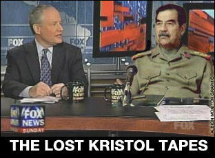 saddam hussein bill william kristol fox