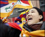 Tibet protesters