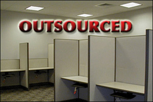 outsourced american jobs